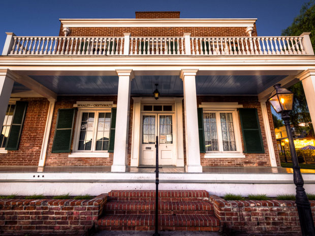 real haunted houses whaley house