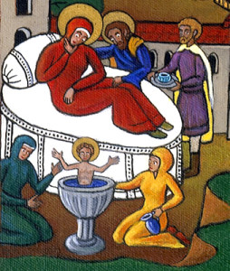 Birth of St Nicholas