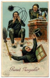 weird new year's chimney sweeps