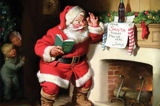 Haddon Sundblom Santa Claus Coke