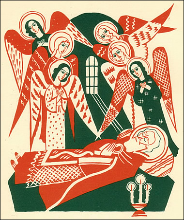 St. Nicholas' death © Elisabeth Ivanovsky