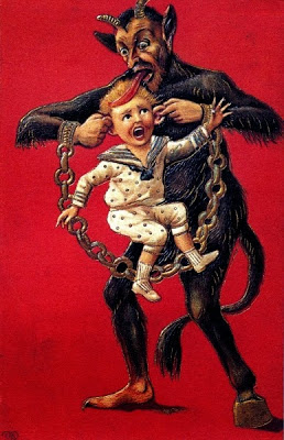 The Krampus post card