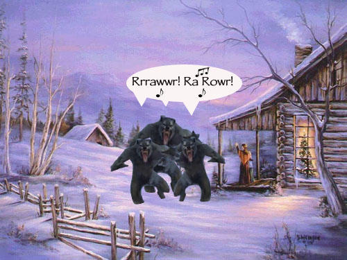 Weird Christmas – Werewolves of Yule You do NOT want to be born on Christmas