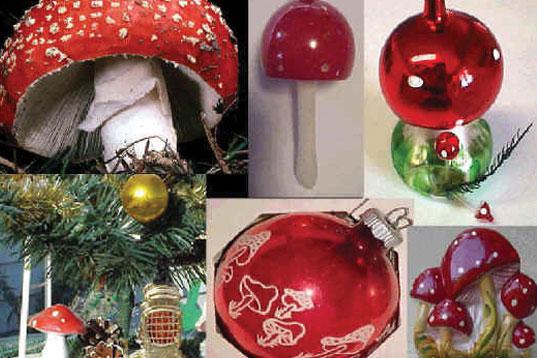 vintage-mushroom-christmas-ornaments
