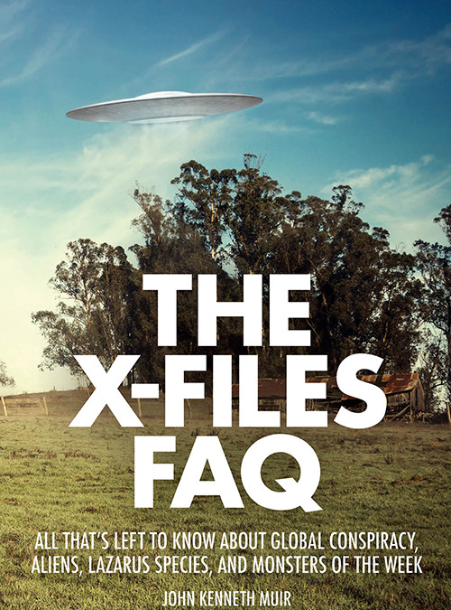 Talking THE X-FILES and Horror Films with Author John Kenneth Muir on After Hours AM/America's Most Haunted Radio New THE X-FILES FAQ book arrives just in time for series return