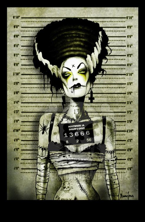 Bride of Frankenstein Bad Girl