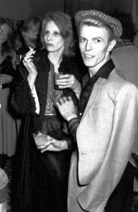David Bowie Angie Bowie 1975