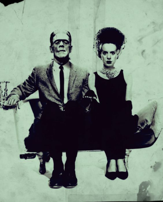 Bride of Frankenstein Breakfast At Tiffany's