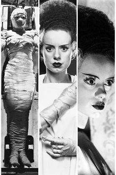 Bride Of Frankenstein Elsa Lanchester Montage