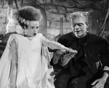 Bride of Frankenstein Elsa Lanchester Boris Karloff