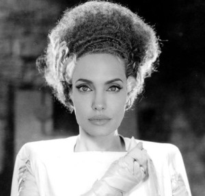 Bride of Frankenstein Angelina Jolie