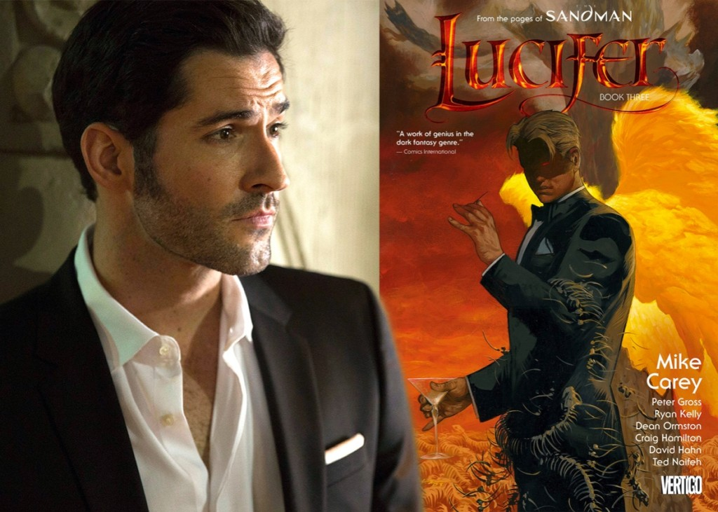 Lucifer Tom Ellis and comic