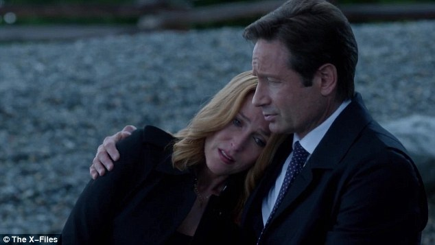 THE X-FILES 2016 Mulder and Scully