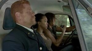 The Walking Dead S6 E9 Daryl Sasha Abraham
