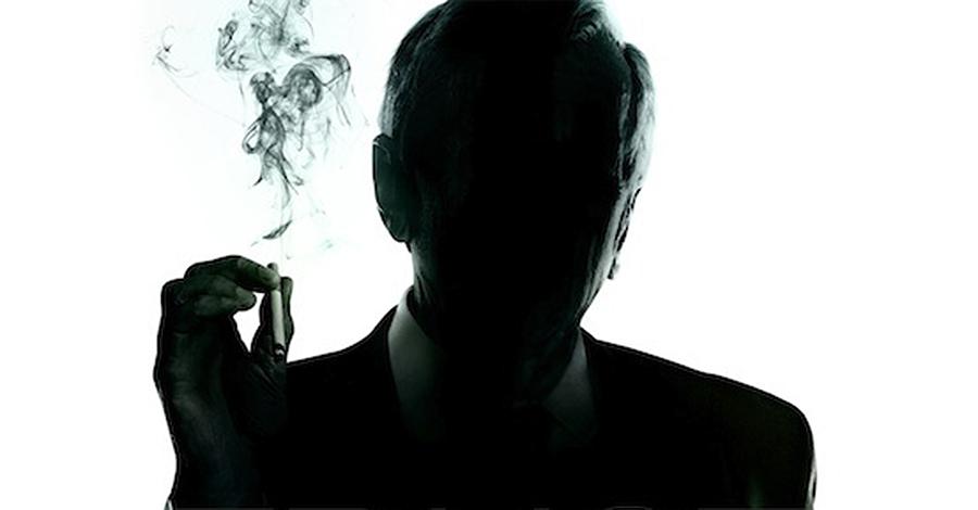 THE X-FILES Cigarette Smoking Man