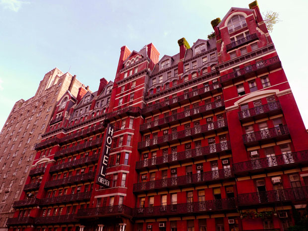 Haunted Hotels chelsea hotel