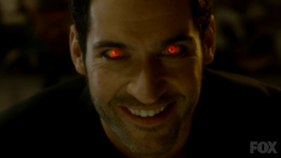 Lucifer devil eyes