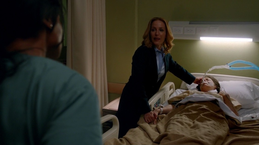 THE X-FILES Home Again Scully Mother ICU