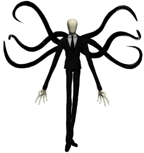 slenderman with appendages
