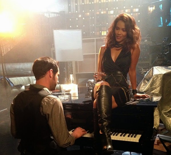Lucifer Tom Ellis Lesley-Ann Brandt