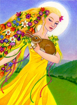 Easter Bunny Eostre