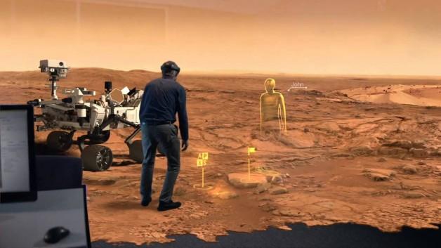 Mars Experince VR 2030 rendering