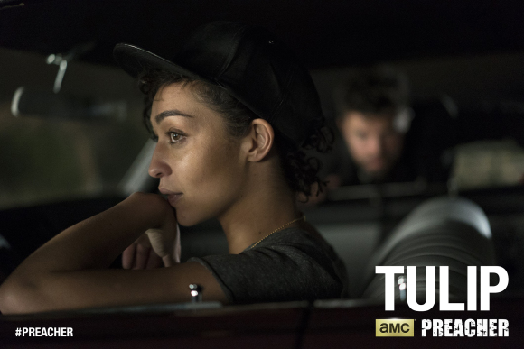 Preacher Ruth Negga as Tulip