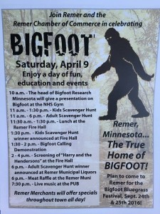 Home of Bigfoot celebration