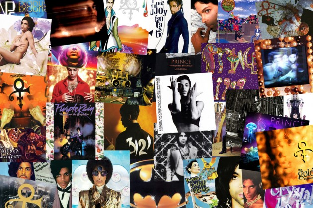 Prince album covers