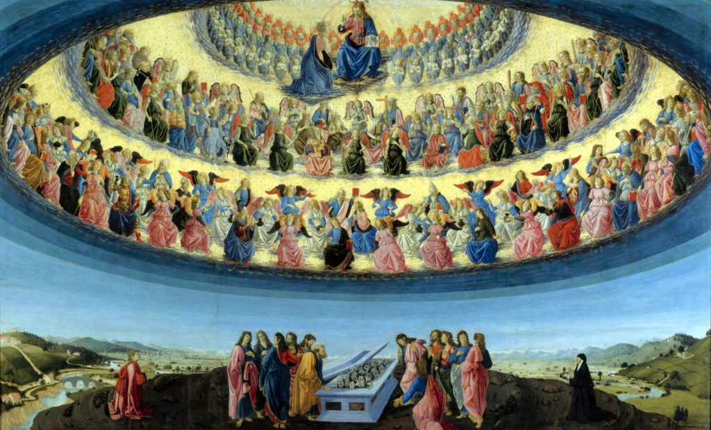 Prince The Assumption of the Virgin Botticini