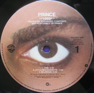 Prince Purple Rain single