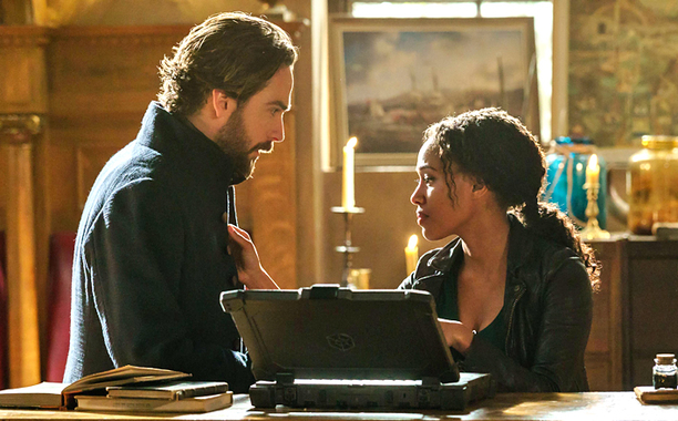 Sleepy Hollow S3 finale Tom and Nicole