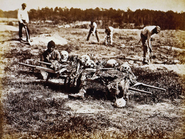 Cold Harbor burial