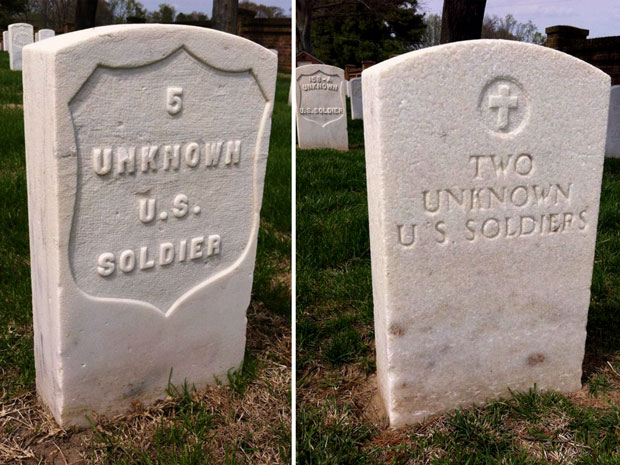 Cold Harbor unknown soldiers