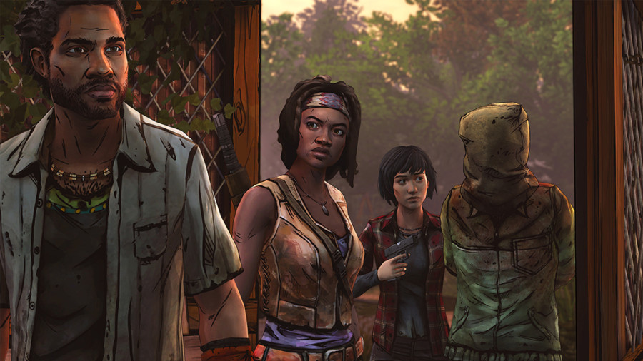The Walking Dead: Michonne Negotiation