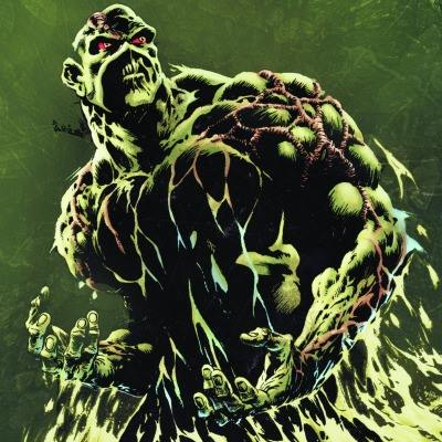 Blood in Four Colours Swamp Thing