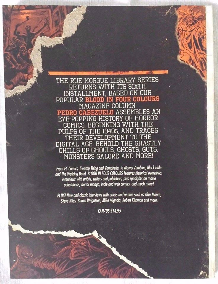Blood in Four Colours back cover