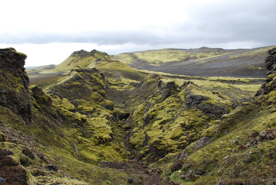 Iceland Laki fissure