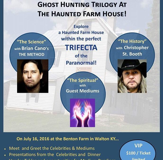 Talking Haunted Benton Family Farm with Christopher Saint Booth, Brian Cano on After Hours AM/America's Most Haunted Radio