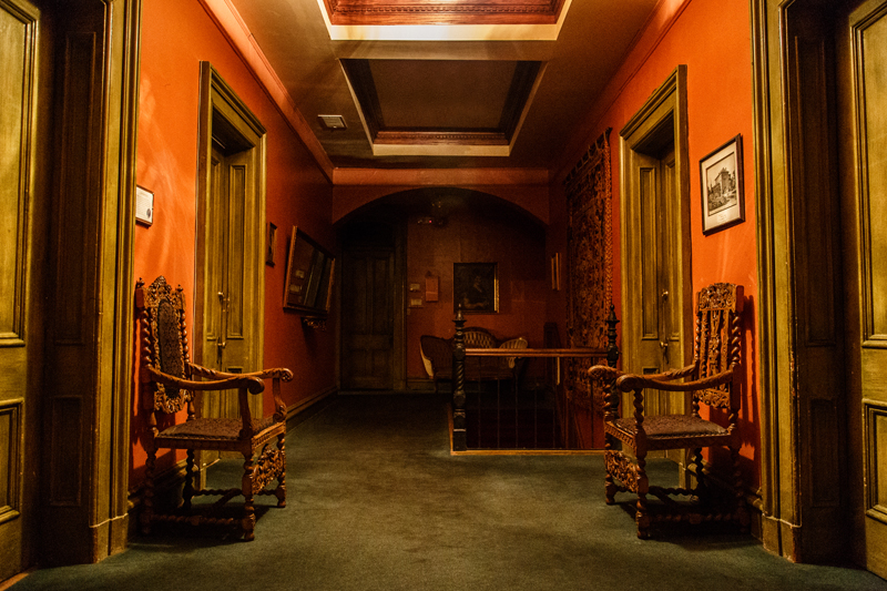 Lemp Mansion hallway