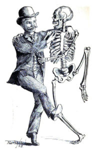 H.H. Holmes Dance with a Skeleton
