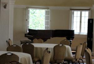Stanley Hotel Steinway piano