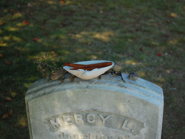 Mercy Brown vampire grave