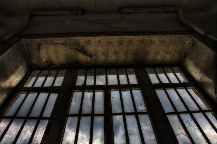 Trans-Allegheny Lunatic Asylum barred window