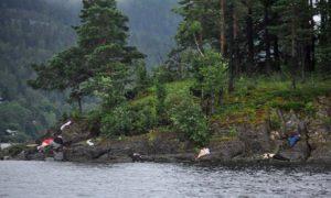 Anders Behring Breivik Bodies strewn in Breivik's wake
