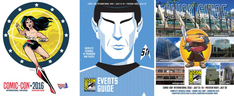 San Diego Comic-con 2016 programs