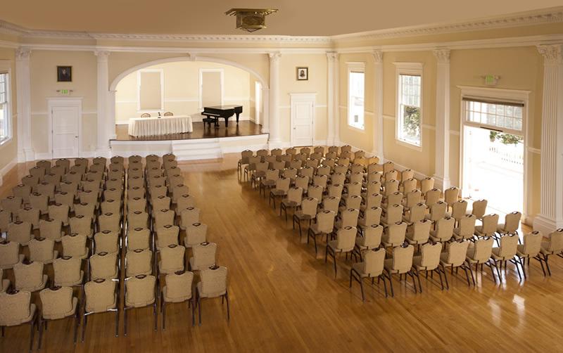 Stanley Hotel Concert Hall
