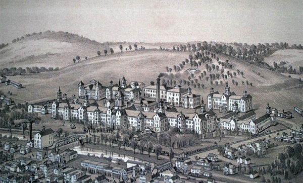 Trans-Allegheny Weston State drawing