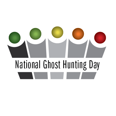 National Ghost Hunting Day logo