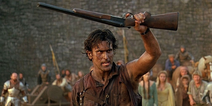 Evil Dead Trilogy Ash-in-Army-of-Darkness